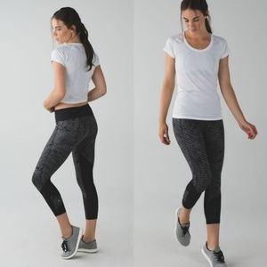 Lululemon Pace Rival Crop Full-On Extreme 7/8